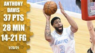 Anthony Davis scores 37 points in 28 minutes vs. Bulls [HIGHLIGHTS] | NBA on ESPN