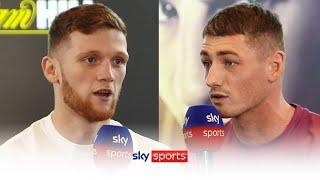 FIERY!  John Docherty clashes with Jack Cullen ahead of their fight on Saturday