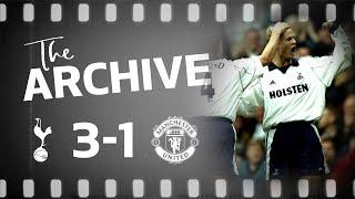 THE ARCHIVE | SPURS 3-1 MANCHESTER UNITED (October 1999)