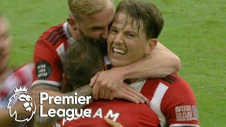 Sander Berge's first Blades goal puts Sheffield United ahead of Spurs | Premier League | NBC Sports