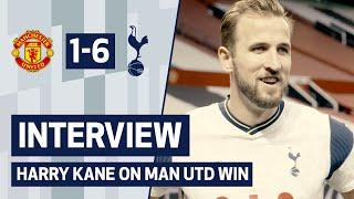 INTERVIEW   HARRY KANE ON MANCHESTER UNITED WIN