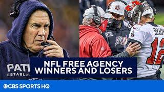NFL Free Agency Grades: Winners & Losers [Patriots, Bears, & More] | CBS Sports HQ
