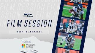 2020 Week 12: Seahawks at Eagles Film Session