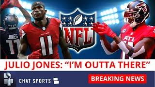 """Julio Jones Tells Shannon Sharpe """"I'm Outta There"""" (Falcons) On Undisputed + 5 Trade Destinations"""