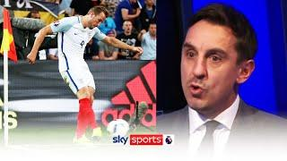 Gary Neville reveals the reason Harry Kane took corners against Iceland in 2016