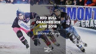LIVE - The Junior Finals from Red Bull Crashed Ice 2018 | Edmonton, Canada