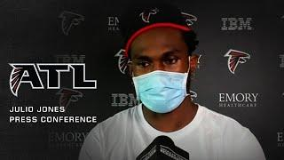 Julio Jones: 'You can lean on me throughout the game, I'm ready to go'
