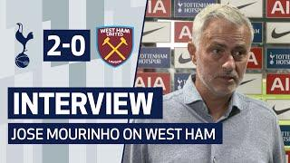 INTERVIEW | Jose Mourinho on West Ham Win