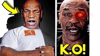 """*OMG* MIKE TYSON CRUEL WARNING TO ROY JONES JR """"IF YOU SHOW UP, I WILL KNOCK YOU OUT"""""""