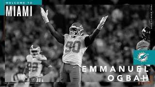 """I wanted to play for Coach Flores"" - Emmanuel Ogbah 