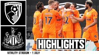 AFC Bournemouth 1 Newcastle United 4 | Premier League Highlights