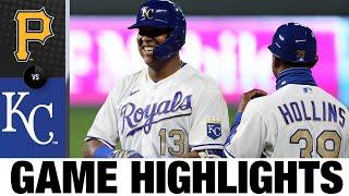 Royals outlast Bucs for fourth straight win | Royals-Pirates Game Highlights 9/11/20