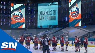 Islanders Exchange Fist Bumps With Panthers As Series Ends In 4 Games