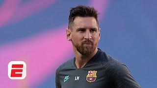 Lionel Messi NEEDS TO GET HIS BACK SIDE to Barcelona training for now - Craig Burley | ESPN FC