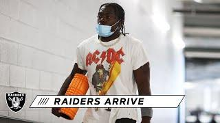 Raiders Arrive at Allegiant Stadium for Another Practice Before Week 1 | Las Vegas Raiders