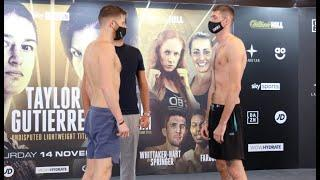 FIGHT OF THE NIGHT? - JOHN DOCHERTY v JACK CULLEN / OFFICIAL WEIGH IN WITH EDDIE HEARN