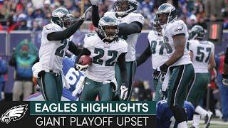 A GIANT Playoff Upset: Eagles vs. Giants, 2008 Divisional Round   Eagles Highlights