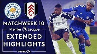 Leicester City v. Fulham | PREMIER LEAGUE HIGHLIGHTS | 11/30/2020 | NBC Sports