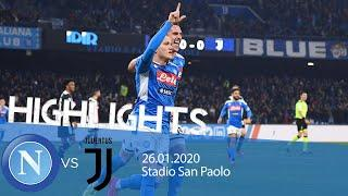 Highlights Serie A TIM - Napoli vs Juventus 2-1