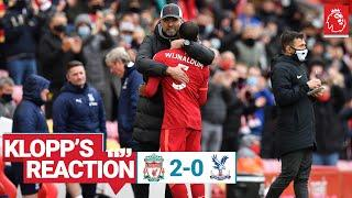 Klopp's Reaction: Mentality Monsters, staff praise & Gini | Liverpool vs Crystal Palace