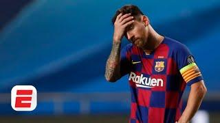 Lionel Messi leaving Barcelona 'would be nice' - Frank Leboeuf | ESPN FC
