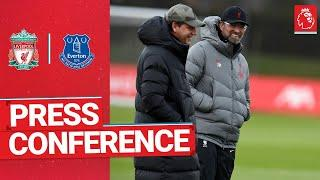 Jürgen Klopp's pre-match press conference | Everton