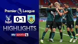 Mee goal strengthens Burnley's Europa League ambition | Crystal Palace 0-1 Burnley | EPL Highlights