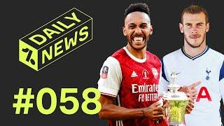 Bale AGREES Spurs move + Aubameyang's new Arsenal deal!  Daily News