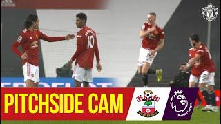 Pitchside Cam | United 9-0 Southampton | Exclusive views of an incredible game! | Access All Areas