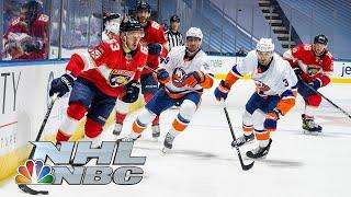 NHL Stanley Cup Qualifying Round: Panthers vs. Islanders | Game 3 EXTENDED HIGHLIGHTS | NBC Sports