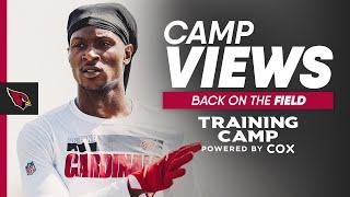 Kyler Murray & DeAndre Hopkins Are Back on the Field for #CardsCamp | Arizona Cardinals