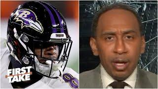 Stephen A. reacts to Lamar Jackson's dramatic comeback vs. the Browns | First Take