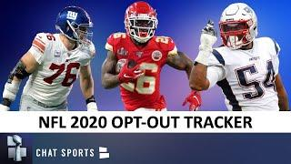 NFL Opt-Out Tracker: All The Players Who Aren't Playing In 2020 Ft. Nate Solder & Damien Williams