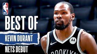 BEST Of Kevin Durant's Brooklyn Nets #NBAPreseason DEBUT!
