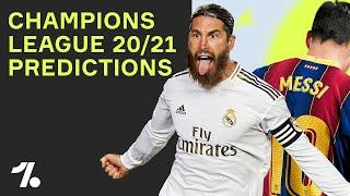 PREDICTING THE 20/21 CHAMPIONS LEAGUE!