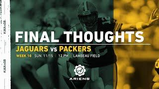 Packers vs. Jaguars | Final Thoughts