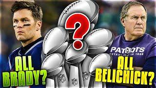 5 Reasons WHY Tom Brady Was MORE Important to the Patriots Dynasty...and 5 WHY It Was Bill Belichick
