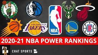 NBA Power Rankings: Ranking All 30 Teams Leading Up To The Start Of NBA Training Camps