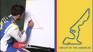 COTA Drawing Challenge with NASCAR Drivers