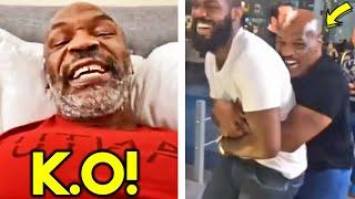 "(OMG!) MIKE TYSON CALLS OUT JON JONES FOR COMEBACK FIGHT in UFC- ""FIGHT ME FOR HUGE PAYDAY!"""