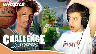 Sceptic DOMINATES Fortnite With NBA Player Romeo Langford!