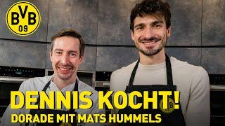 Seabream with Mats Hummels   Cooking with Dennis