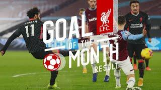 Liverpool's January Goal of the Month result | Trent, Wijnaldum, Salah