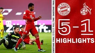 Serge Gnabry comes back with 2 goals! Highlights FC Bayern vs. 1. FC Cologne 5-1