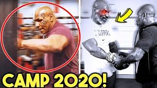 *UNSEEN* MIKE TYSON COMEBACK TRAINING AT 53- 2019/2020 CLIPS COMPILATION  (SPARRING, BAG, MITTS)