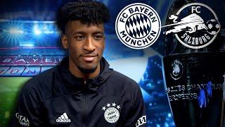 Kingsley Coman talks about his goal in the Champions League final | FC Bayern vs. FC Salzburg