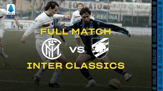 INTER CLASSICS | FULL MATCH | INTER vs SAMPDORIA | 2004/05 SERIE A TIM - MATCHDAY 18