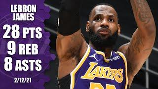 LeBron James (28 points) fuels Lakers to win vs. Grizzlies [HIGHLIGHTS] | NBA on ESPN