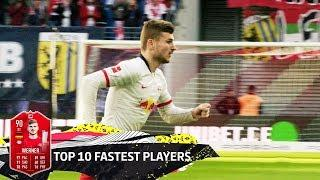 Top 10 Fastest Players - EA SPORTS FIFA 20 - Werner, Davies, Haaland & More