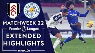 Fulham v. Leicester City | PREMIER LEAGUE HIGHLIGHTS | 2/3/2021 | NBC Sports